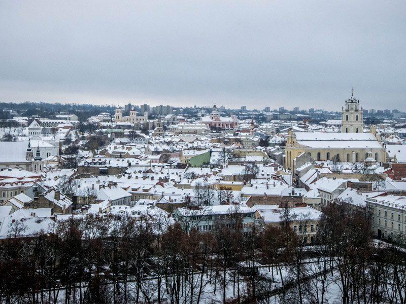 Warschau naar Vilnius