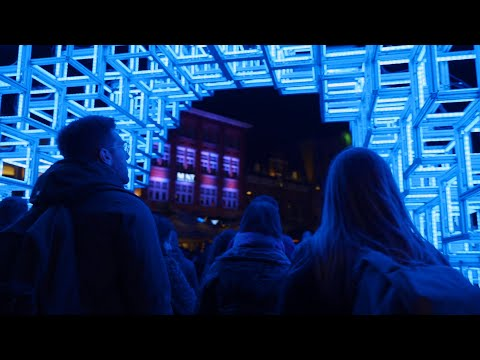Glow Eindhoven 2019 // Sony A7iii HLG3 low light video