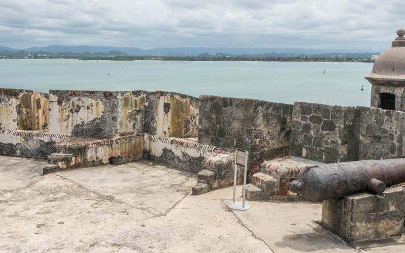Puerto Rico, san felipe del morro kasteel