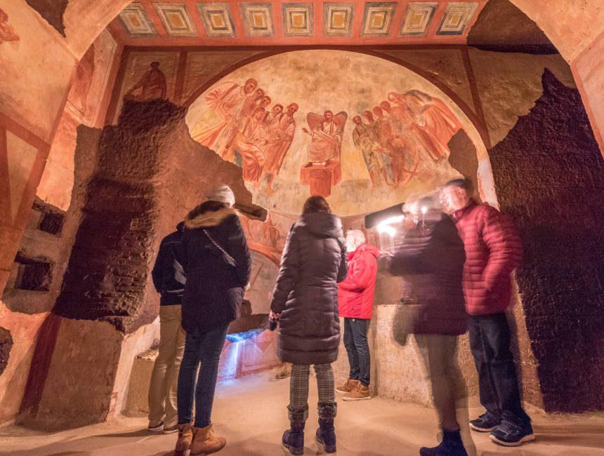 catacomben onder Rome dingen om te doen