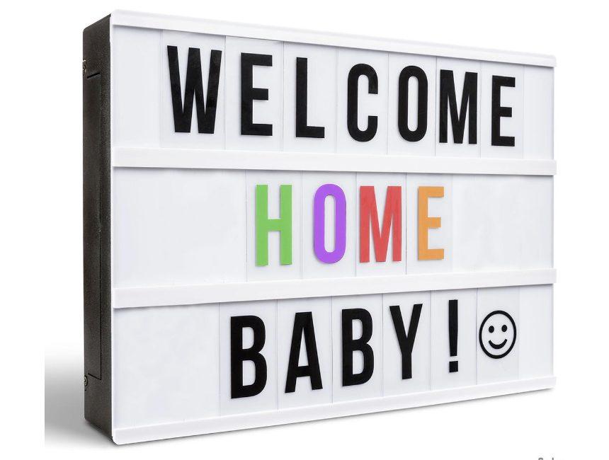 Lightbox housewarming cadeau ideeën