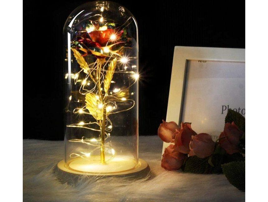 Roos lampje
