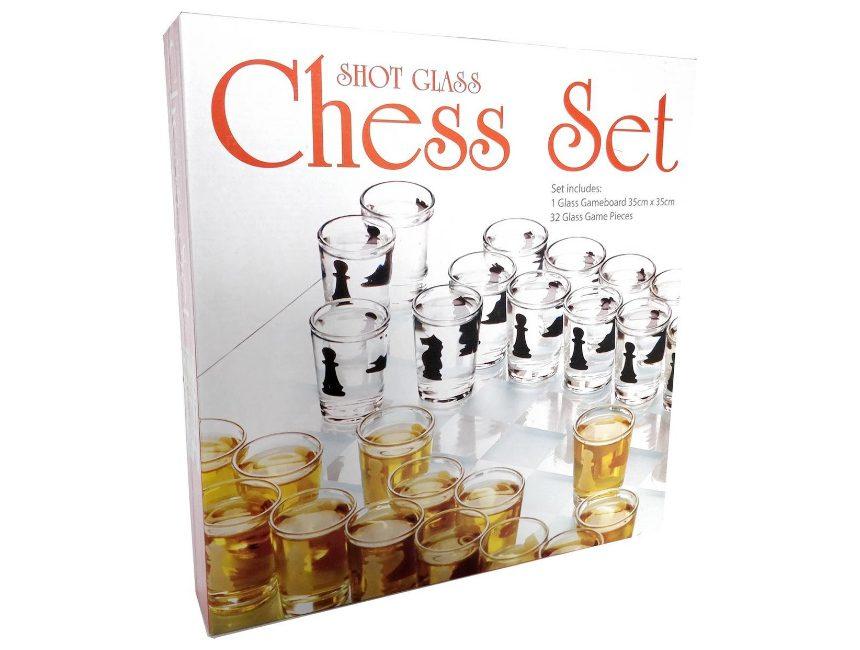 Shotglass schaakspel