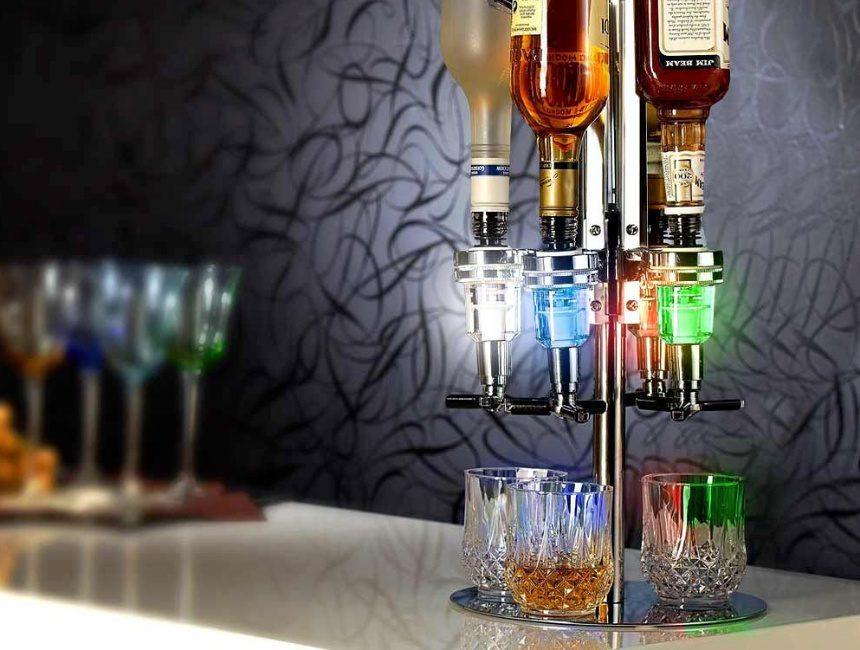 origineel housewarming cadeau LED bar butler
