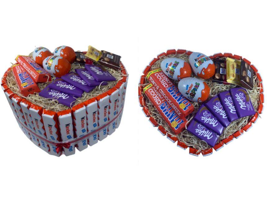 Chocolade pakket beste valentijnscadeau