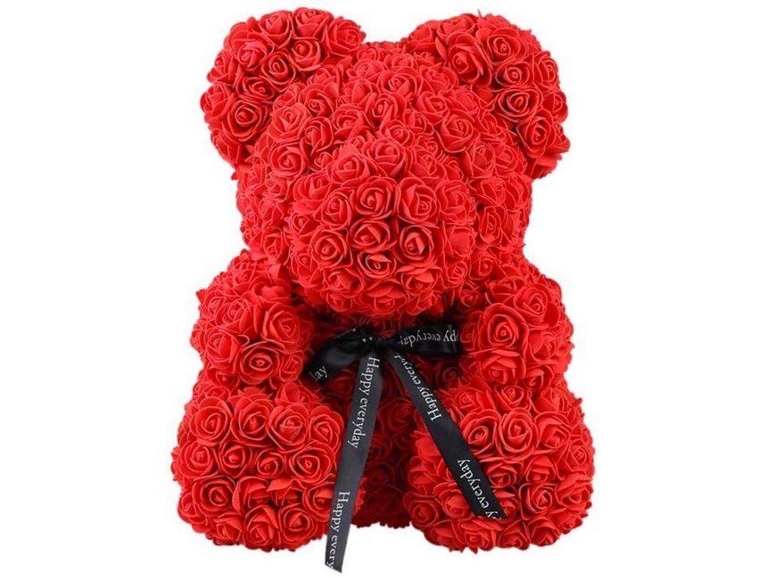 uniek valentijnscadeau voor haar rozenbeer