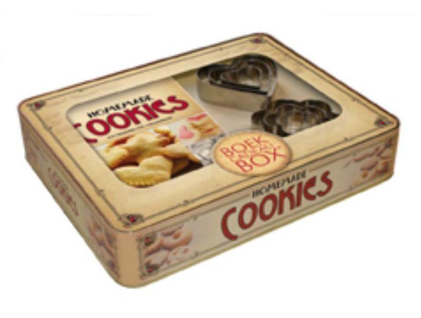 valentijnscadeau vrouw homemade cookies